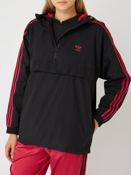 buying new fresh styles exclusive range ADIDAS Originals – Jacke in Schlupfform mit Kapuze – Schwarz