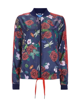 ADIDAS Originals Rita Ora Sweatjacke mit All-Over-Muster Blau - 1