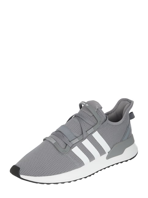 pick up 41aa2 66289 ADIDAS Originals Sneaker  U Path Run  aus Mesh Grau   Schwarz ...