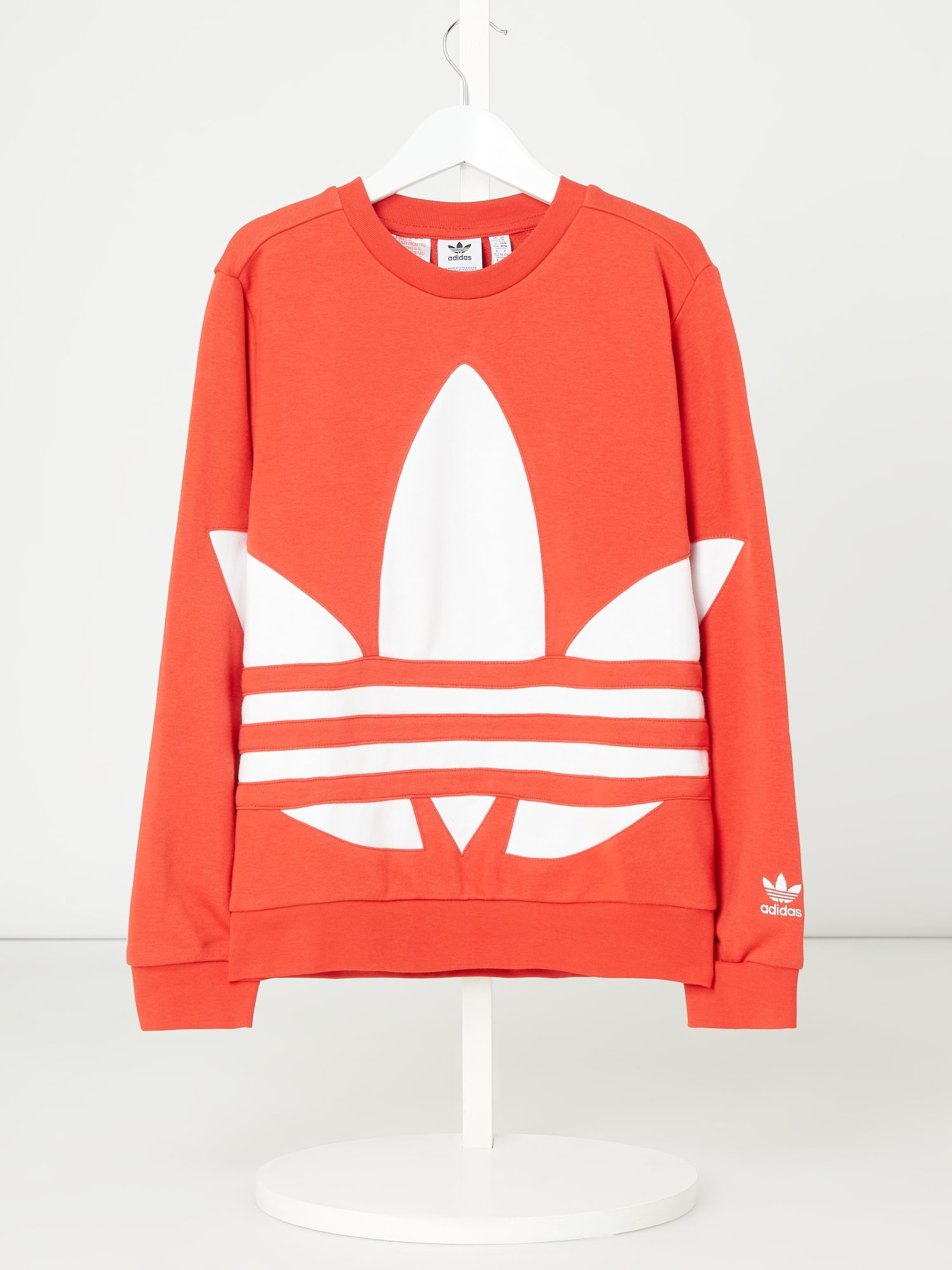 ADIDAS Sweatshirt mit recyceltem Polyester in Rot online