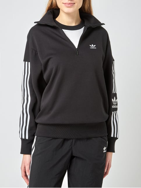 wholesale outlet good selling many styles Sweatshirt aus Baumwolle und recyceltem Polyester