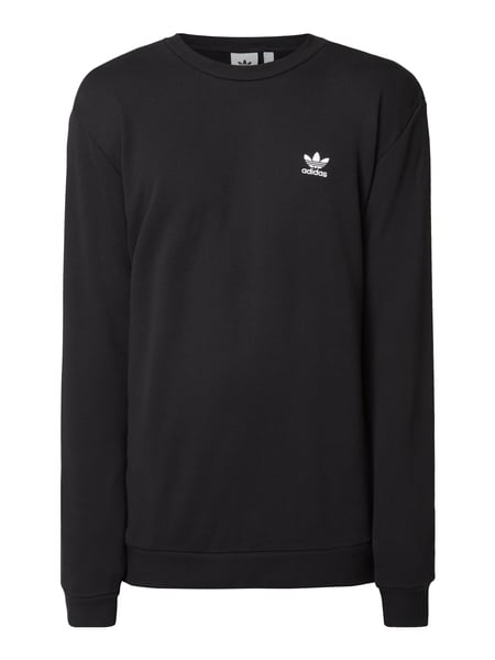 ADIDAS Originals Sweatshirt mit Logo-Stickerei Schwarz