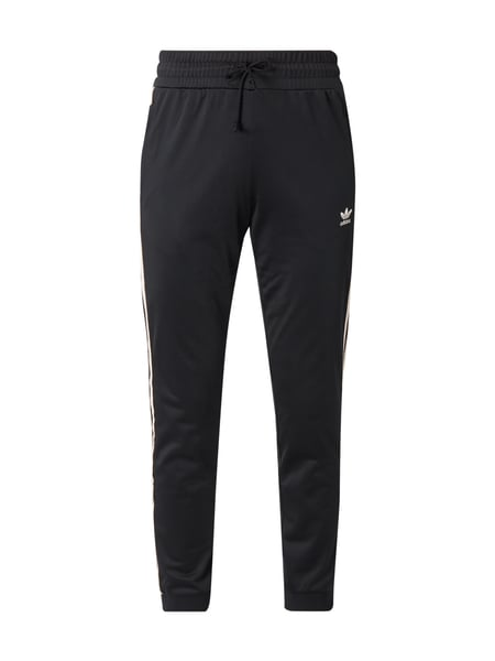 ADIDAS Originals Track Pants mit floraler Stickerei Rosa