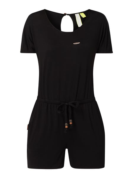 ALIFE & Kickin Playsuit mit Cut Out Schwarz - 1