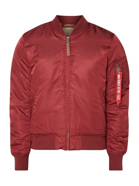 Alpha Industries Bomber mit Wattierung Rot - 1