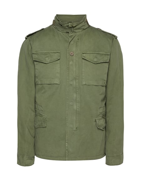 Alpha Industries Fieldjacket mit Wattierung Grün - 1