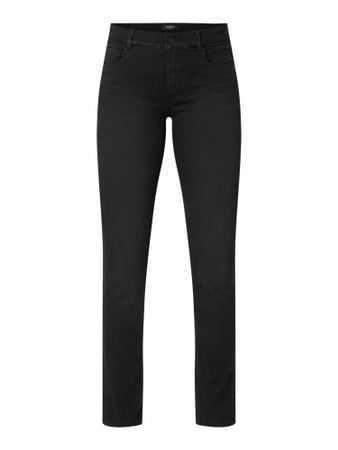 Angels 'One Size Fits All' Jeans in schmaler Passform Grau / Schwarz - 1