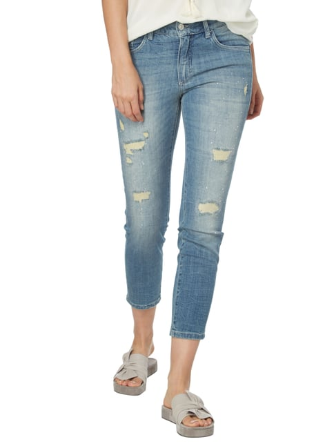 Angels Girlfriend Fit Jeans im Destroyed Look Jeans meliert - 1