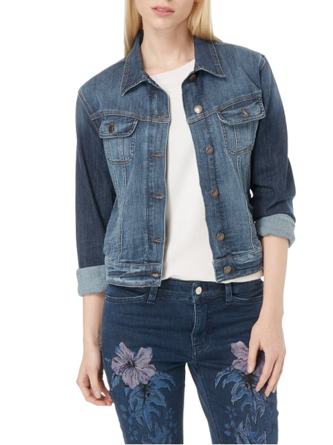 Angels Jeansjacke im Used Look Jeans meliert - 1
