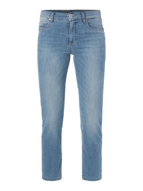 One Washed Ankle Cut Jeans Blau / Türkis - 1