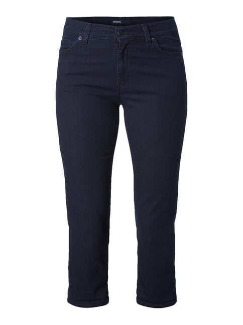 One Washed Slim Fit Caprijeans Blau / Türkis - 1