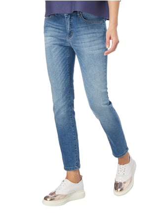 Angels Stone Washed Boyfriend Fit 5-Pocket-Jeans Jeans meliert - 1