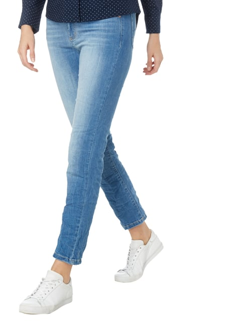 Angels Stone Washed Regular Fit Jeans Hellblau meliert - 1