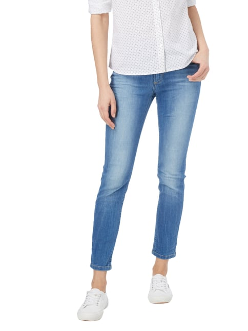 Angels Stone Washed Skinny Fit 5-Pocket-Jeans Jeans meliert - 1