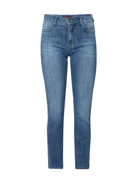 Angels 34 Cici - Stone Washed Slim Fit 5-Pocket-Jeans Jeans meliert