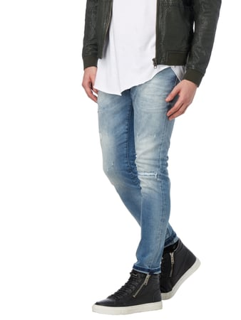 Antony Morato 5-Pocket-Jeans im Destroyed Look Weiß - 1