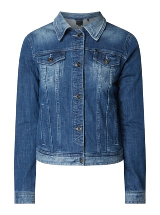 timeless design 719c4 5b13b ARMANI EXCHANGE Jeansjacke mit Stretch-Anteil