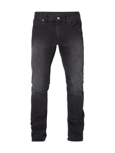 ARMANI EXCHANGE Stone Washed Slim Fit Jeans Schwarz