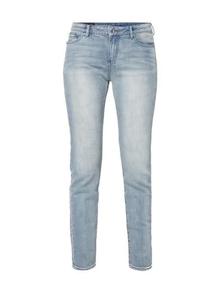 ARMANI EXCHANGE Stone Washed Super Skinny Fit Jeans Jeans