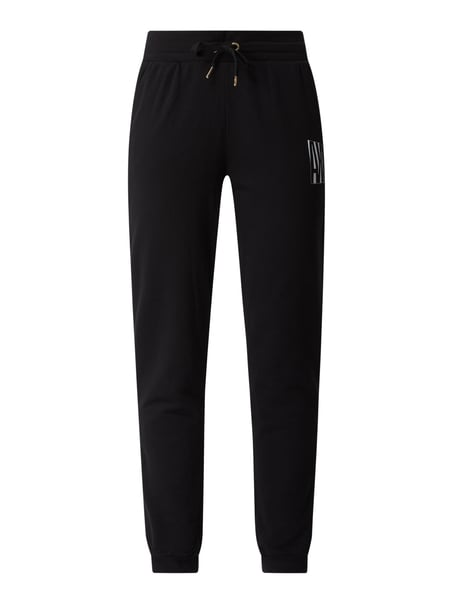 ARMANI EXCHANGE Sweatpants mit Logo Schwarz - 1