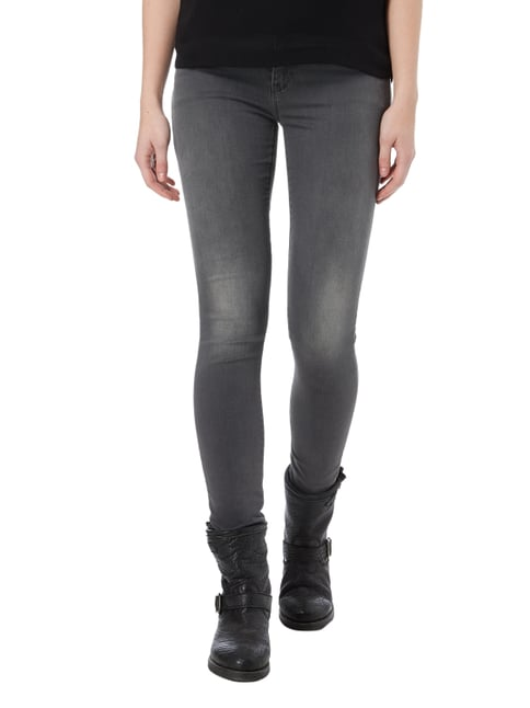 Armani Jeans Coloured Skinny Fit Jeans mit Push Up-Effekt Anthrazit - 1