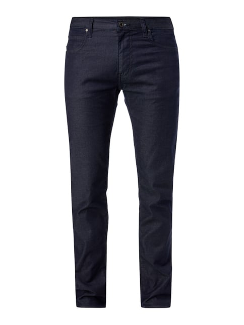 Rinsed Washed Straight Fit Jeans Blau / Türkis - 1