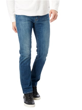 Armani Jeans Stone Washed Slim Fit Jeans Jeans - 1