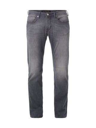 Coloured Regular Fit Jeans Grau / Schwarz - 1