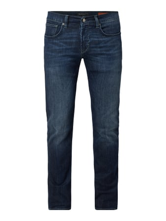 Baldessarini Double Stone Washed Slim Fit Jeans Blau / Türkis - 1