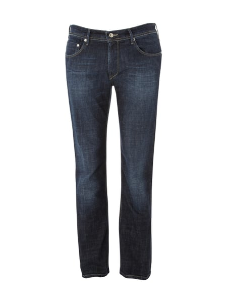 Baldessarini Light Stone Washed Regular Fit Jeans Blau