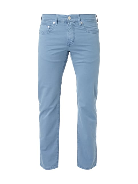 Regular Fit 5-Pocket-Hose Blau / Türkis - 1