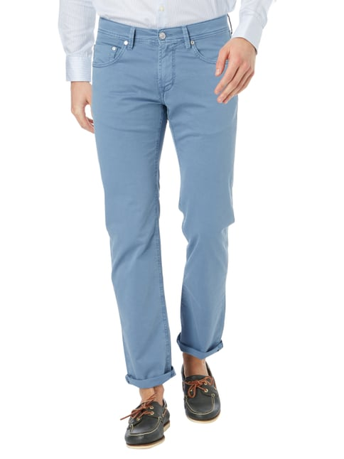 Baldessarini Regular Fit 5-Pocket-Hose Bleu - 1