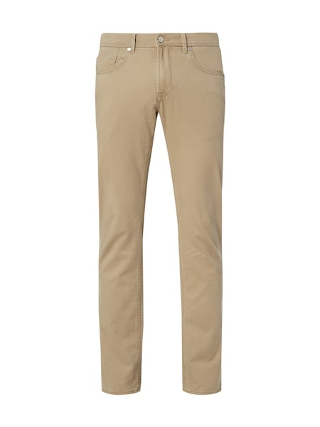 Baldessarini Regular Fit 5-Pocket-Hose mit Stretch-Anteil Beige