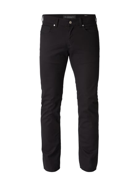 Baldessarini Regular Fit 5-Pocket-Hose mit Stretch-Anteil Schwarz