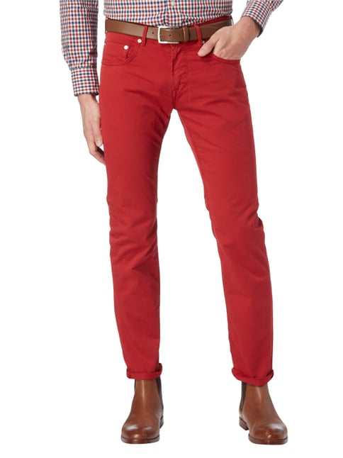 Baldessarini Regular Fit 5-Pocket-Hose Rot - 1