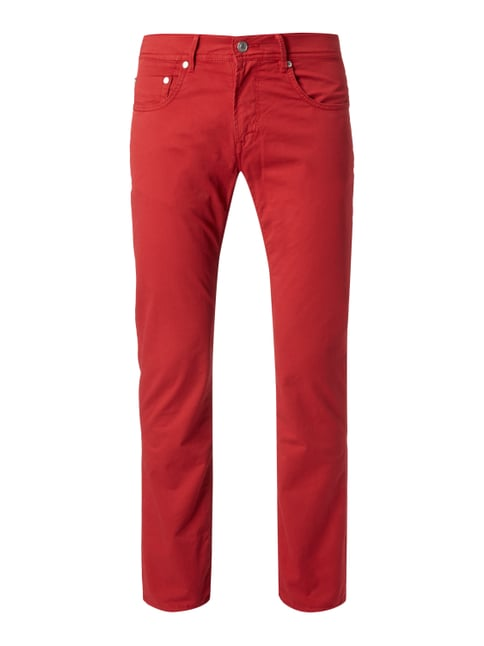 Regular Fit 5-Pocket-Hose Rot - 1