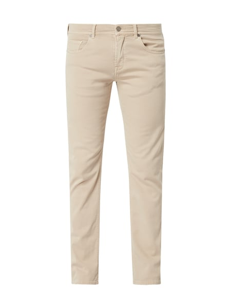 Baldessarini Regular Fit Hose mit Stretch-Anteil Beige - 1