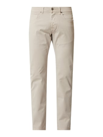 Baldessarini Regular Fit Hose mit Stretch-Anteil Modell 'Jack' Beige - 1