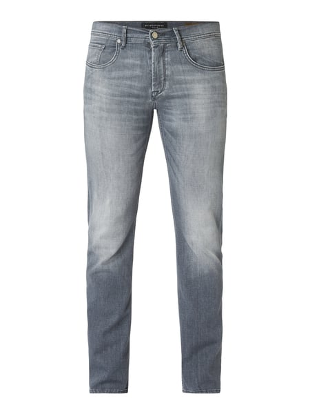 Baldessarini Stone Washed Regular Fit Jeans Grau / Schwarz - 1
