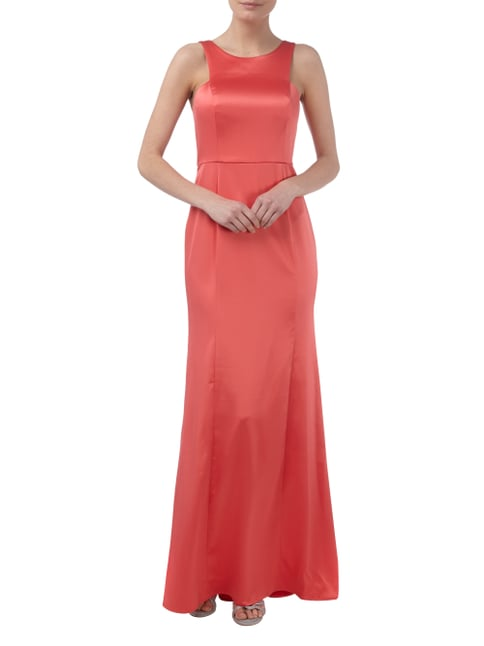 BCBGeneration Abendkleid mit seitlichen Cut Outs in Orange - 1