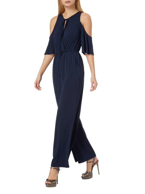 BCBGeneration Jumpsuit mit Cut Outs in Blau / Türkis - 1