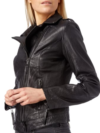 Lederjacke im Biker-Look BE EDGY RED online kaufen - 1