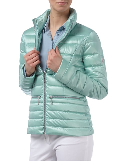 Beaumont Amsterdam Light-Daunenjacke mit Steppnähten Mint - 1