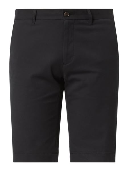 Ben Sherman Regular Fit Chino-Shorts mit Stretch-Anteil Schwarz - 1