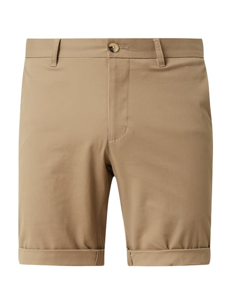 Ben Sherman Regular Fit Chino-Shorts mit Stretch-Anteil Grau - 1