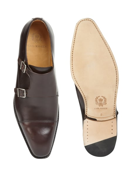 paul rosen men double monk straps aus leder in braun online kaufen 9292536 p c online shop. Black Bedroom Furniture Sets. Home Design Ideas