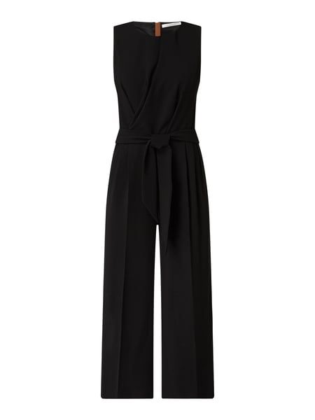 BETTY & CO WHITE Jumpsuit mit verkürztem Bein Schwarz - 1
