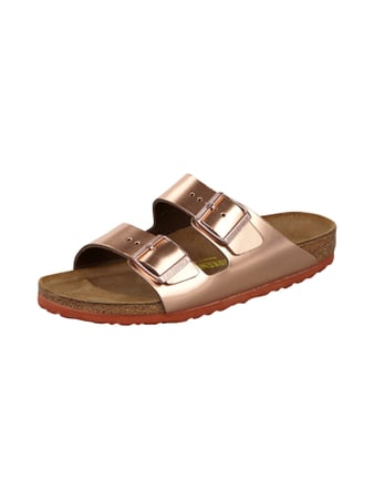 Arizona Sandalen in modischer Metallic-Optik Gelb - 1