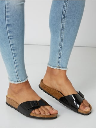 67f457c0101e43 ... Birkenstock Sandalen  Madrid BS  in Lack-Optik Schwarz - 1