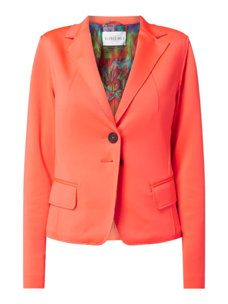 Blonde No. 8 Blazer mit 2-Knopf-Leiste Modell 'Nizza' Orange - 1